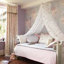 canopy beds for little girls sanderson abracazoo fairy castle wallpaper canopy wallpaper