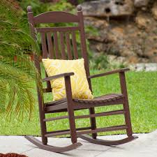 Rocking Chair Tab Polywood Presidential Rocking Chair Outdoor