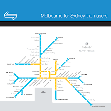 Sydney Subway Map Sydney Maps Real And Fictional Transport Sydney