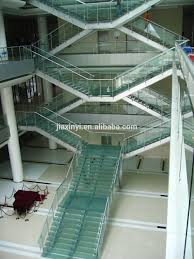 modern glass folding stairs build floating staircase buy glass