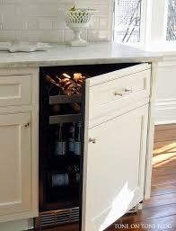 Kitchen Appliance Cabinets Hidden Small Kitchen Appliances Cabinet Transitional Kitchen