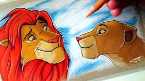coloring pages magnificent lion king drawing maxresdefault