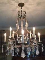 Holly Hunt Chandelier Cost To Ship A Holly Hunt Rock Crystal Chandelier To Villa Park