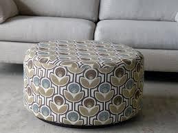 pattern fabric ottoman coffee table beautiful round fabric ottoman coffee table 2016 cloth