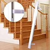 Baby Gate Stairs Banister Top 4 Baby Gate Banister Adapter Kit 2017 Reviews Petandbabygates