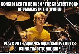 Drummer Meme - stewart copeland drummer of the police by guest 464 meme center