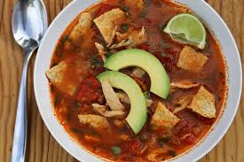 thanksgiving leftovers mexican turkey tortilla soup with lime and