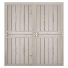 Narrow Exterior French Doors by Double Door Security Doors Exterior Doors The Home Depot