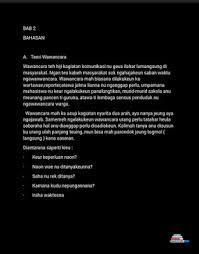 contoh laporan wawancara pedagang bakso contoh gambar susunan makalah hasil wawancara bahasa sunda