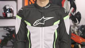 safest motorcycle jacket alpinestars t gp plus r v2 air jacket review at revzilla com youtube