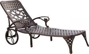 Jcp Patio Furniture Styles Biscayne Outdoor Chaise Lounge Chair With Wheels