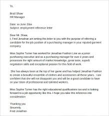 bunch ideas of good reference letter for job about download