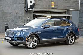 blue bentley 2016 bentley bentayga blue
