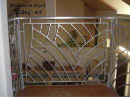 Steel Banister Rails Stainless Steel Railing Design By Ak Service U0026 Food Equipment