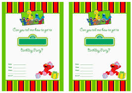 elmo birthday invitations template futureclim info