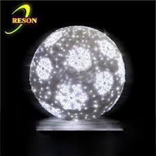 outdoor light decorating big balls buy