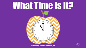 Telling Time To The Nearest Minute Worksheet Telling Time For Kids To The Hour Half Hour Minute Teaching How To