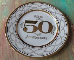 50th wedding anniversary plate 18 best anniversary plate images on celebration dish