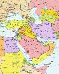 Eastern Asia Map Partial Europe Middle East Asia Russia Africa Map For And