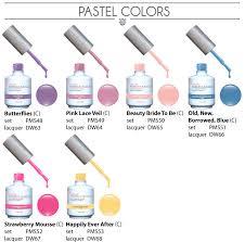 perfect match colors perfect match pastel gel polish pinterest gel color