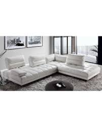 Top Grain Leather Sectional Sofas Here S A Great Deal On Teva Contemporary Adjustable White Top