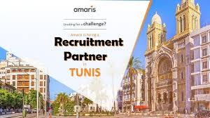 liste des bureaux d 騁udes en tunisie amaris recrute recruitment partner in tunis svp partager