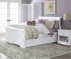wooden white full size trundle bed u2014 loft bed design beautiful