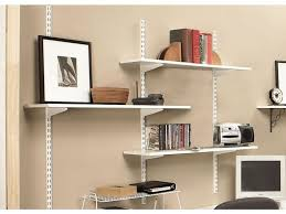 Metro Shelving Home Depot by Wall Mounted Shelves Conceal Floating Wall Mounted Shelf La