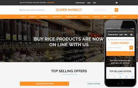 free online home page design ecommerce online shopping mobile website templates