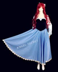 Mermaid Halloween Costume Ps245 Cosplay Kiss Ariel Princess Mermaid Women