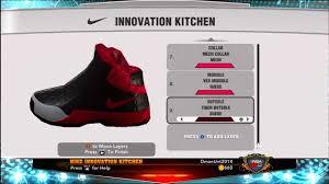Kitchen Shoes by Nba 2k13 Mycareer Endorsement Signature Shoe Nike Shoe