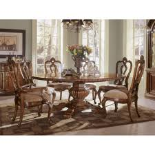 villa cortina round tabel set by universal furniture texas
