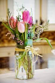 jar arrangements 15 gorgeous ideas for easter flower arrangements country wedding