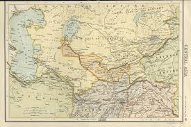 Map Of Central Asia Afternoon Map The Soviet National Delimitation In Central Asia