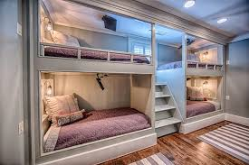 Bunk Beds In Wall 4 Bunk Beds Cottage Boy S Room Toulmin Homes