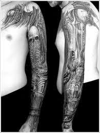 biomechanical tattoo for knee 35 bio mechanical tattoo designs