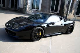 Ferrari 458 Upgrades - ferrari 458 black carbon edition by anderson germany goes to the