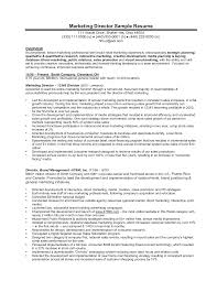 Resume Samples Product Manager by Free Resume Sample Marketing Director Coordinator Idr Group