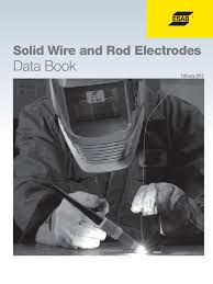 data book solid wire welding metals