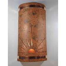 Copper Wall Sconce Copper Outdoor Wall Lighting Bellacor
