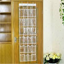 just life 24 pocket bedroom over door wall hanging space saving