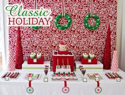 christmas candy cane dessert table christmas party ideas for