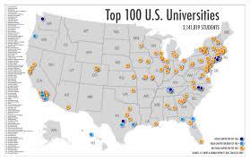 Ohio University Map Universities In Usa Map My Blog
