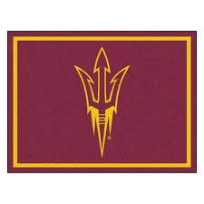 Arizona Rug State University Sun Devils Area Rug Nylon 8 U0027 X 10 U0027