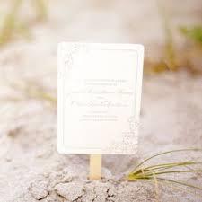 Ceremony Program Fans Beach Wedding Programs
