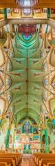 Church Ceilings Amazing Vertical Panoramas Of Church Ceilings Around The World
