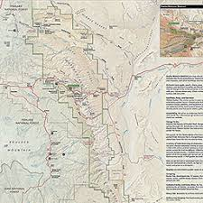 capitol reef national park map maps capitol reef national park u s national park service