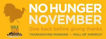 join our team walk to end hunger thanksgiving morning the