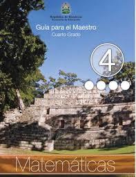 libros para leer de cuarto grado calaméo 4to grado guia del maestro matematicas