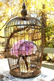 Large Butterfly Decorations by Birdcage Wedding Centerpieces Butterfly Decorations Bird Cages